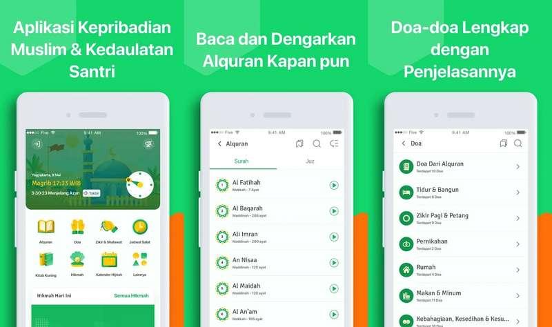 Aplikasi KESAN Kedaulatan Santri ASWAJA