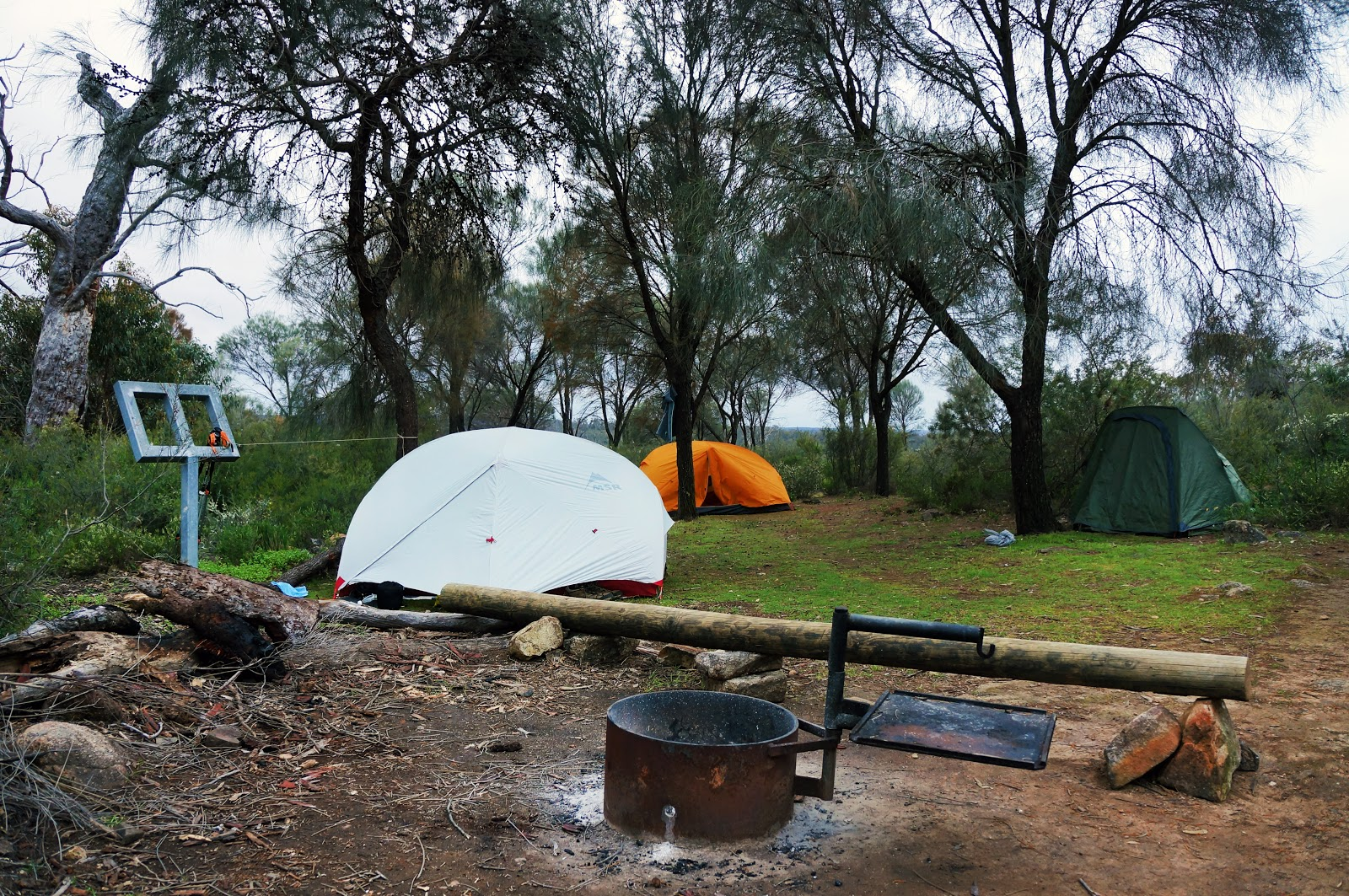 Camping perth hills