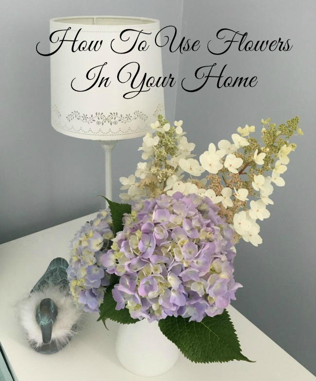 using-flowers-in-your-home-text-over-image-of-hydrangeas-in-white-jug