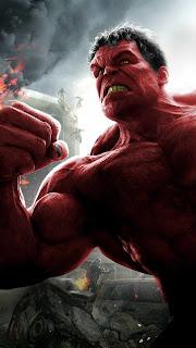 Red Hulk Mobile HD Wallpaper