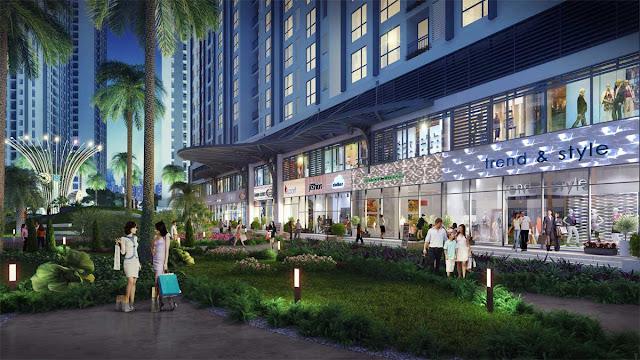 Tiện ích nội khu căn hộ Astral City Thuận An - Bình Dương