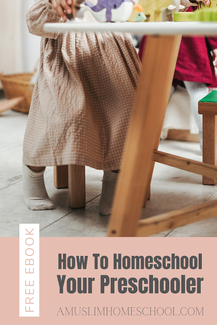 How to homeschool your preschooler free ebook