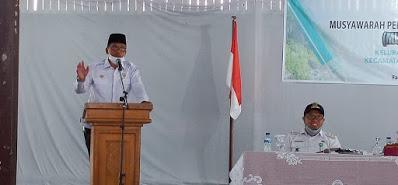 Wakil Ketua DPRD Natuna Hadiri Musrenbang Kelurahan Ranai Kota