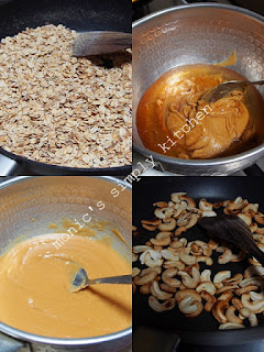membuat granola bars