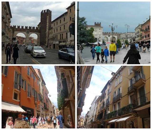 Um dia em Verona - Via Mazzini