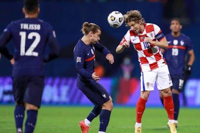ملخص واهداف مباراة فرنسا وكرواتيا (2-1) دوري الامم الاوروبية