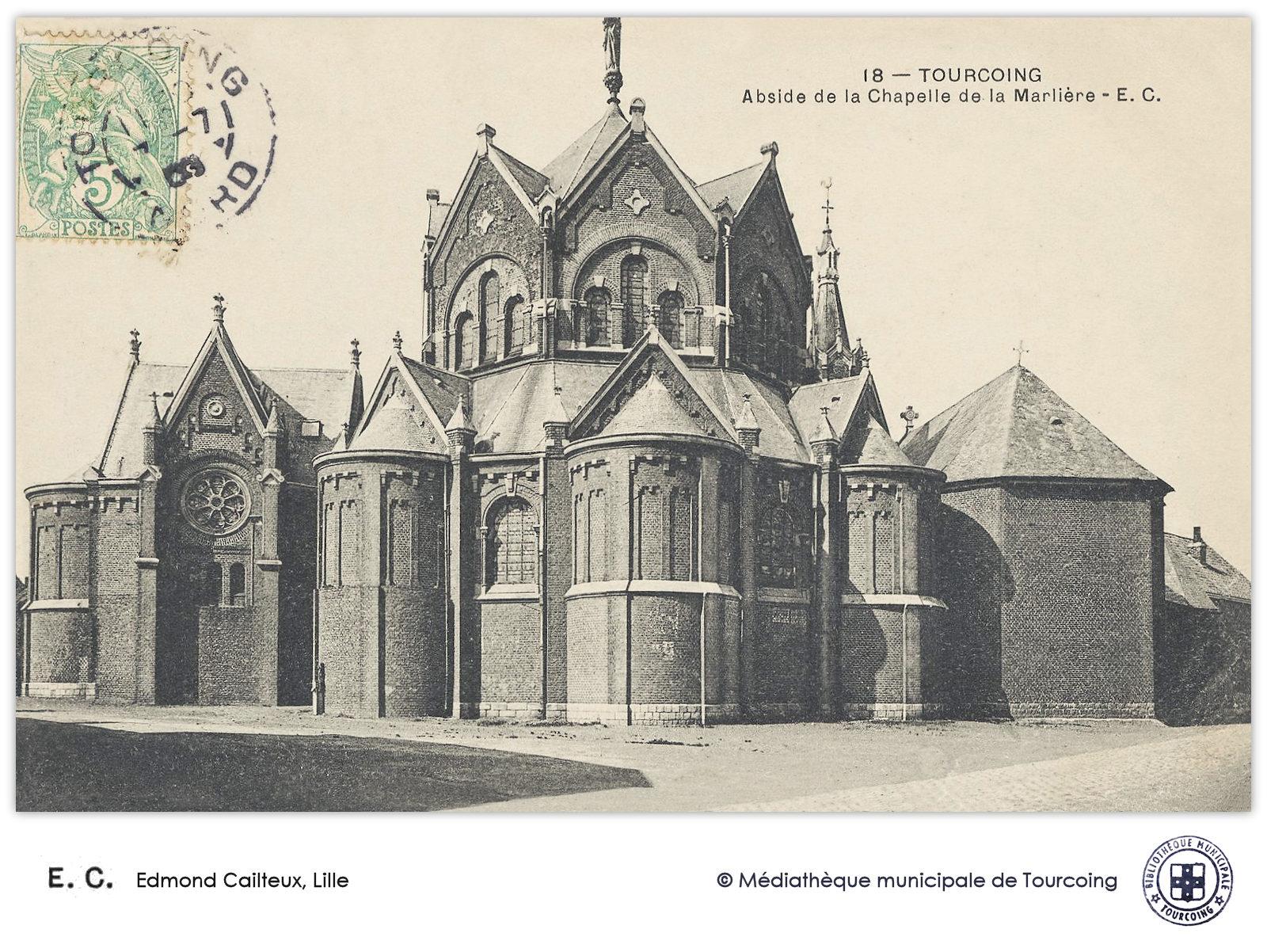 Chapelle Marlière Tourcoing - E. C. Edmond Cailteux éditions, Cartes Postales