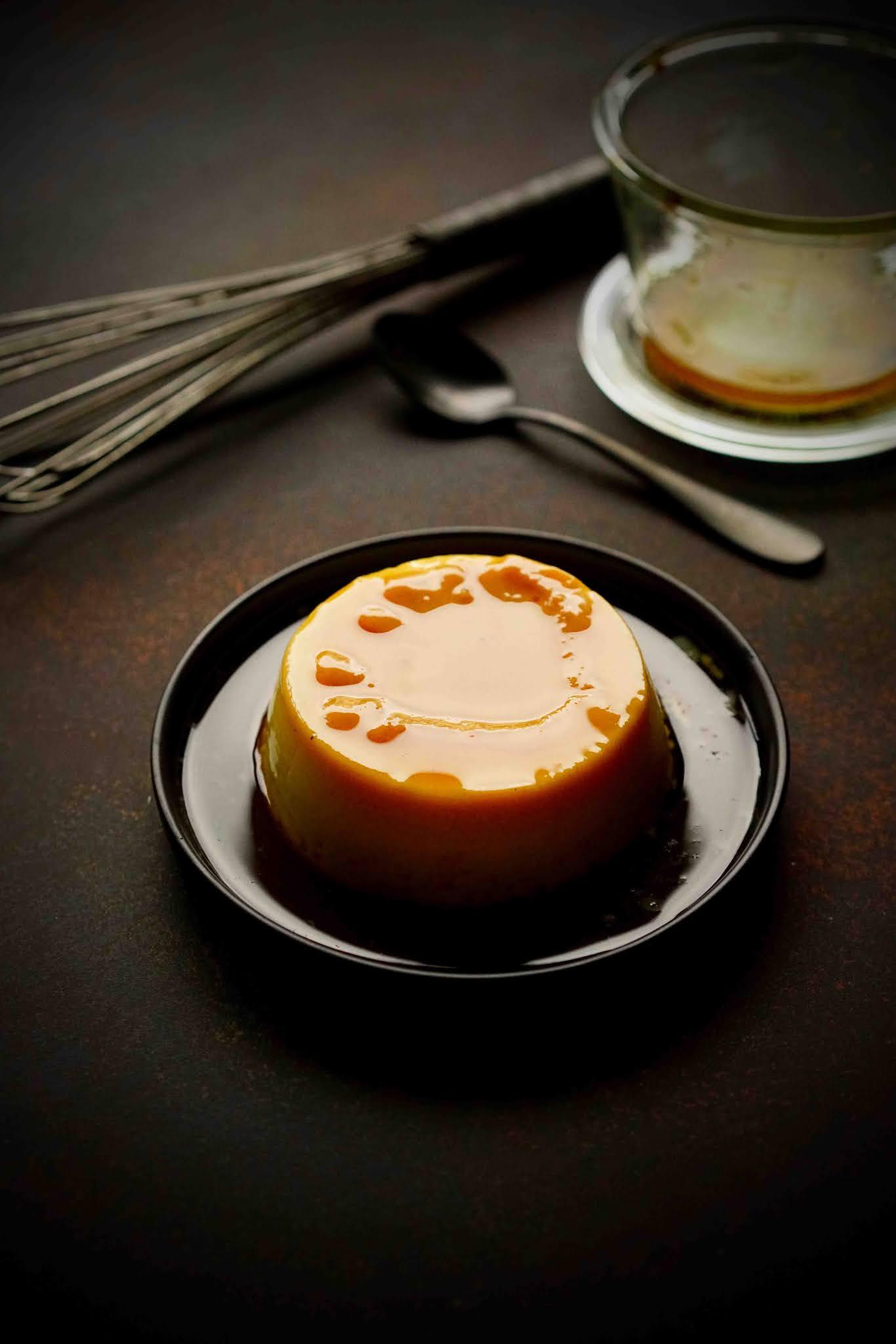 crème à la vanille , dessert facile , dessert famillial