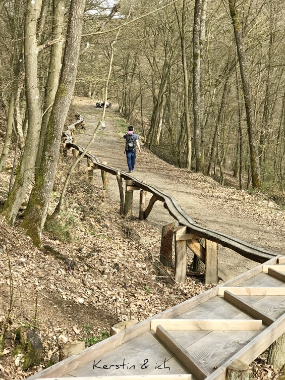 Kugelbahn Traumschleife Dünnbachpfad Wandern im Hunsrück