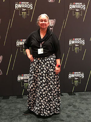 This is a photo of me - #NASCAR Race Mom  working the Red Carpet