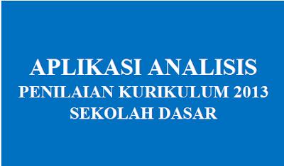 Download Aplikasi Analisis Penilaian K-13 SD/MI Lengkap