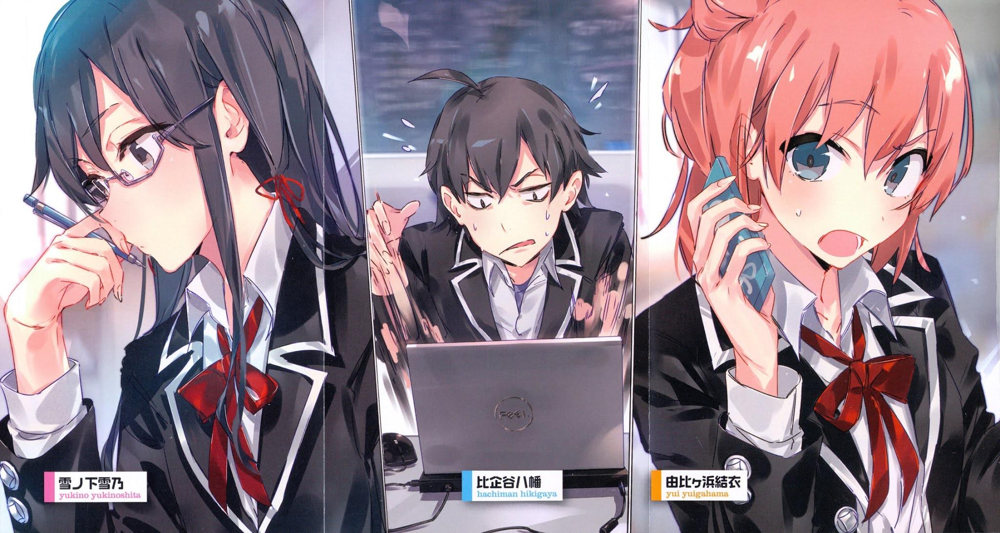 Yahari Ore no Seishun Love Comedy wa Machigatteiru wallpaper