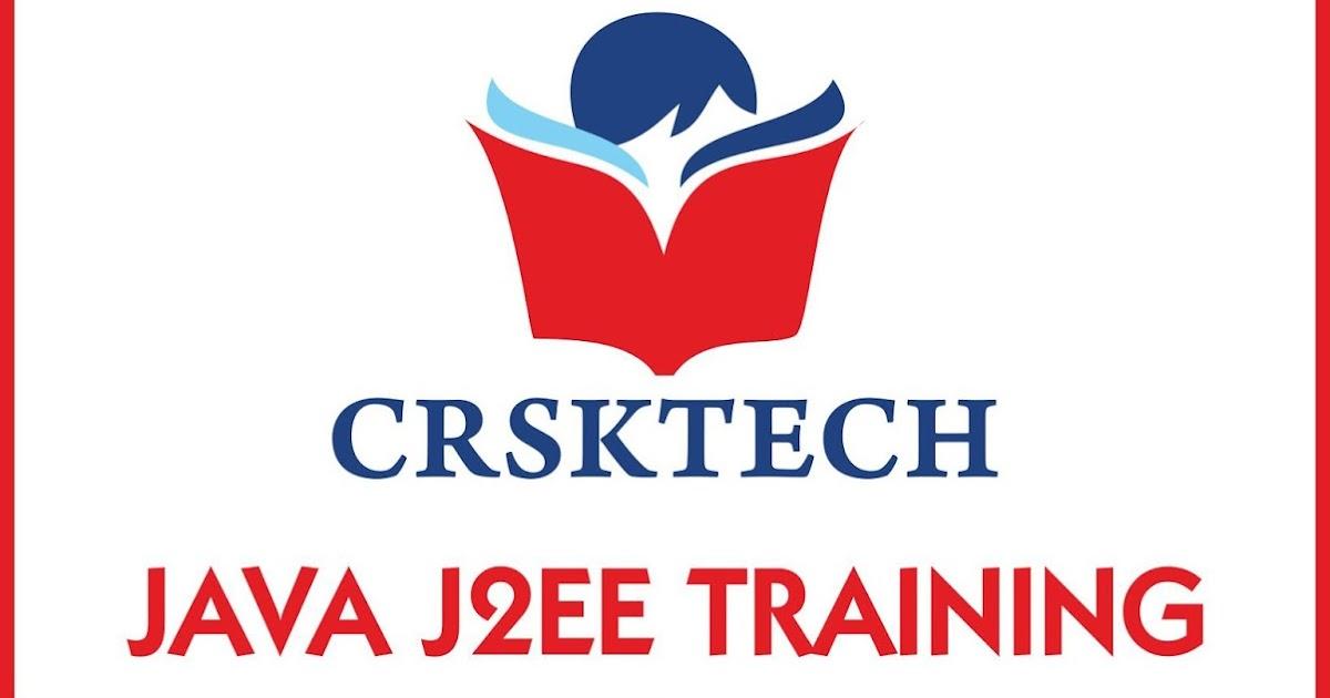 About Us : CrskTech Java J2EE Training Institute - CRSKTECH JAVA
