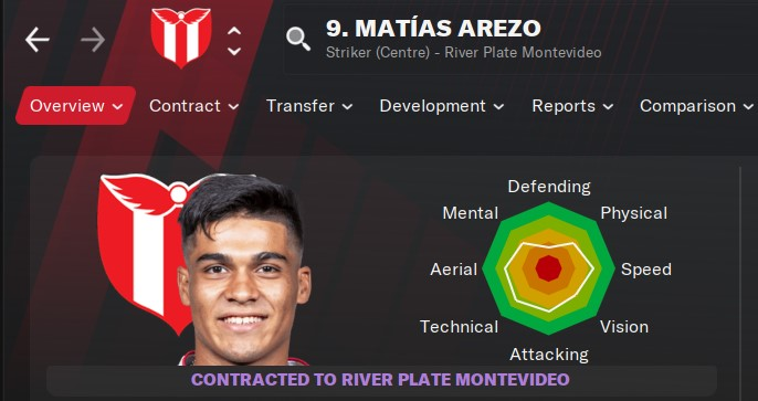 Football Manager 2021 - Matias Arezo | FM21
