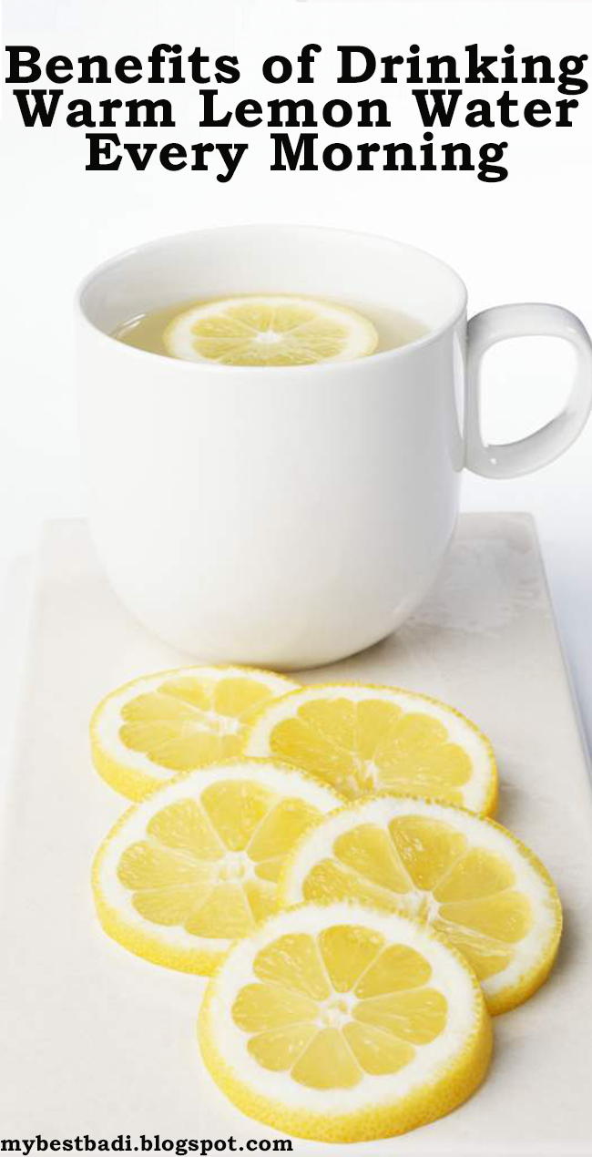 Benefits of Drinking Warm Lemon Water Every Morning - Let's