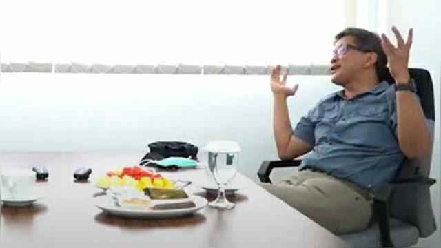 Soal Habib Rizieq dan Anies Baswedan, Rocky Gerung: Istana Sudah Berantakan