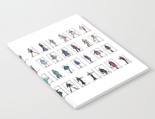 purchase a fashion sketch on society6