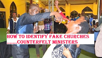 How To Identify Fake Churches And Counterfeit Ministers