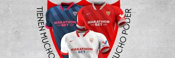 Kits Sevilla FC 21/22 Dream League Soccer 2021