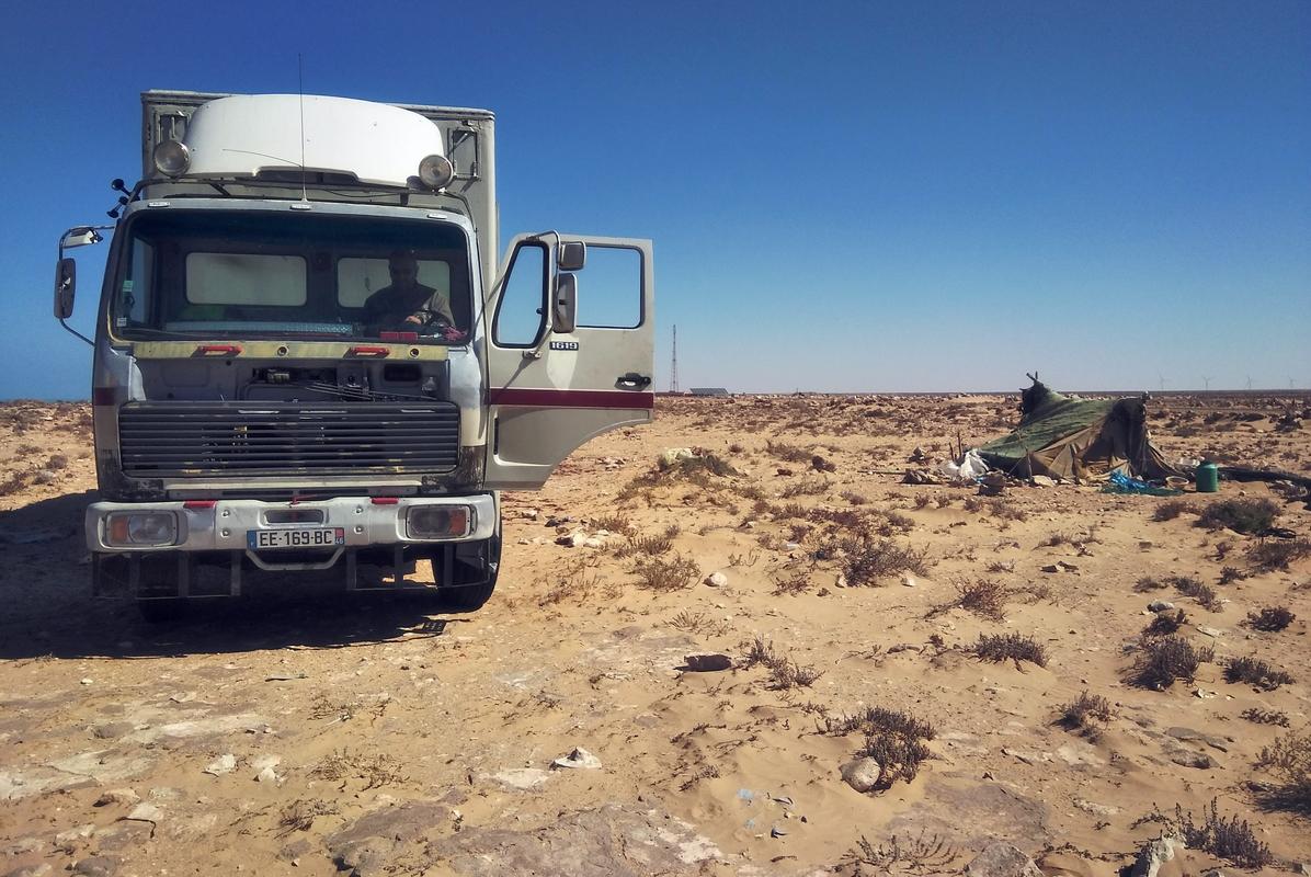 Автостоп в Марокко