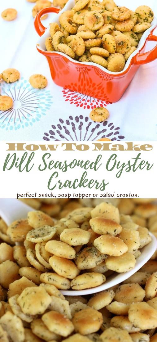 Seasoned Oyster Cracker Recipe #healthyfood #dietketo #breakfast #food