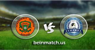 مشاهدة مباراة نهضة الزمامرة ونهضة بركان بث مباشر اليوم 15-01-2020 في الدوري المغربي