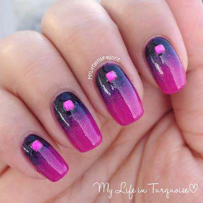 Sparkling-Gradient-Nail-Art