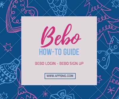 Bebo Login - Bebo Sign Up