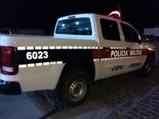 Policiais do 4º BPM apreendem em Guarabira adolescentes com simulacro de revólver
