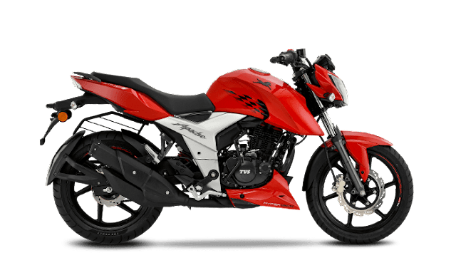 New 2018 TVS Apache RTR 160 4V side profile