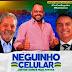 Se a moda pega: Pré-candidato a vereador coloca nos santinhos Lula e Bolsonaro juntos na busca do voto