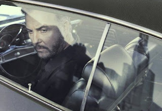Picture of Gina Cirone's husband William sitting in the car