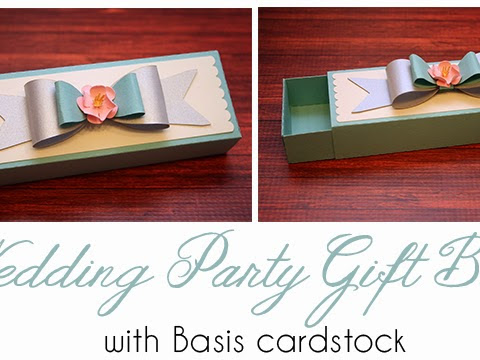 Wedding Party Gift Box with Jamie Cripps