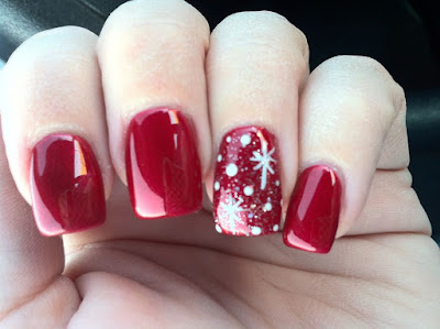 Uñas para la Navidad - nails for Christmas Uñas para la Navidad - nails for Christmas
