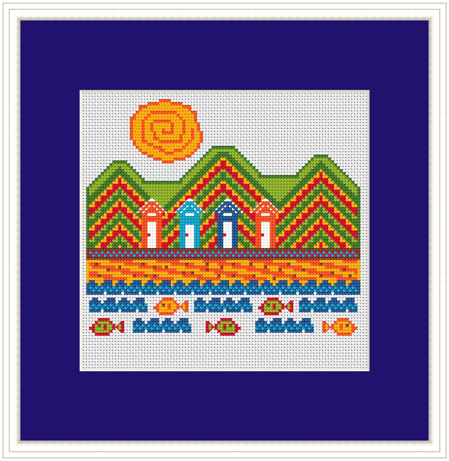 Click Here To Buy This Cross Stitch Pattern