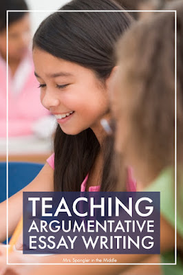 Plan out your Argumentative Essay Writing Lessons using some or all of these strategies!  #teaching #ideas
