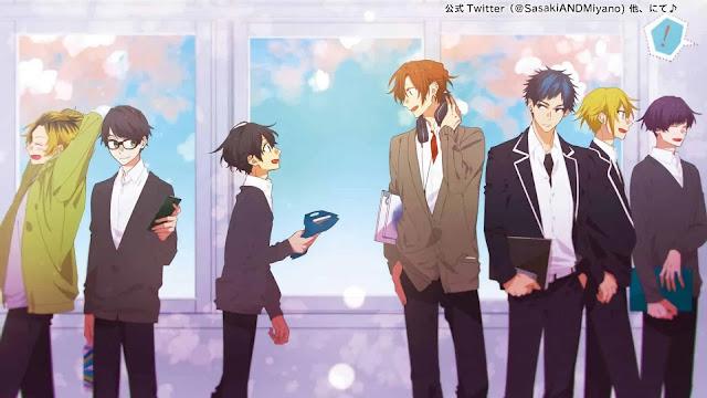 Sasaki to Miyano: mangá será adaptado para anime