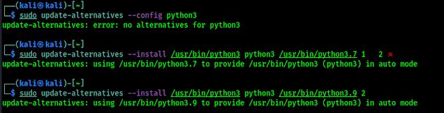 Python Alternatives set