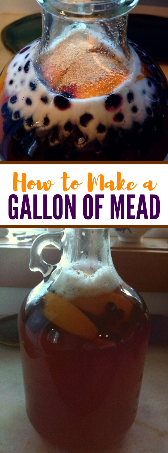 Simple One Gallon Mead Recipe #drinks #healthy
