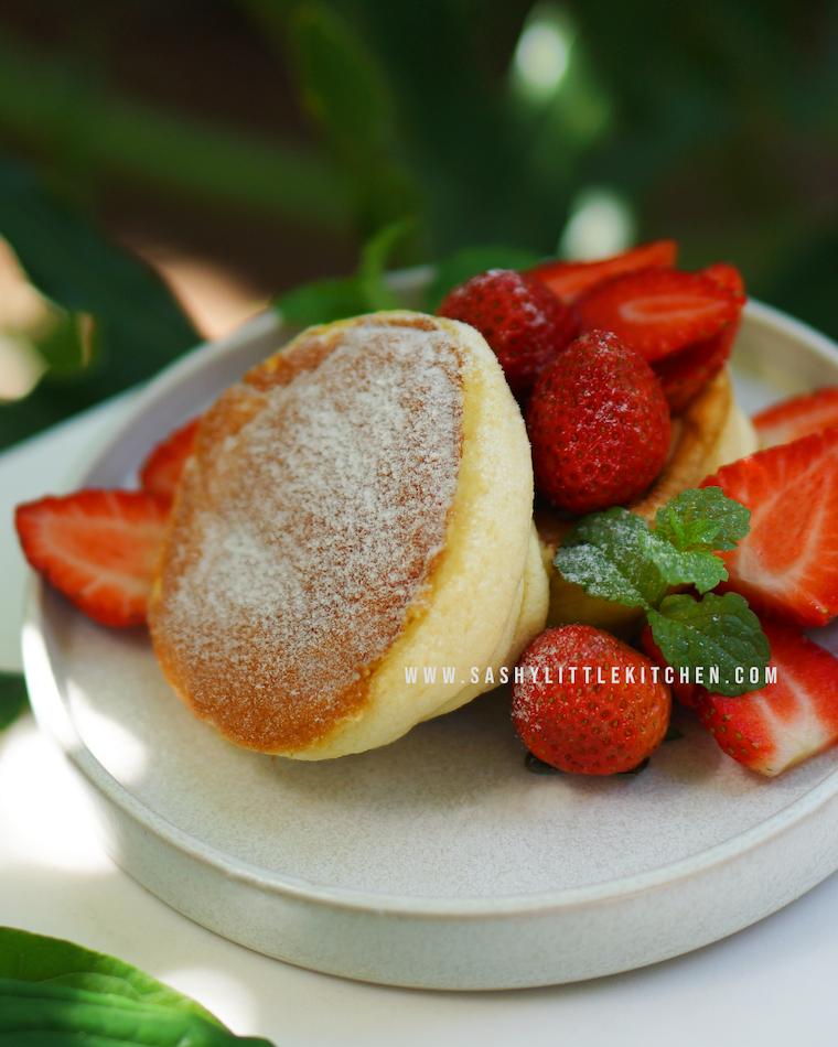 Cara Mudah Membuat Fluffy Japanese Souffle Pancake Super Lembut