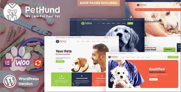 Best Animals Shop & Veterinary WordPress Theme