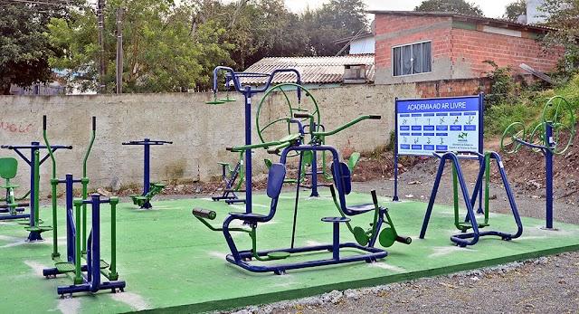 Academia ao ar livre é inaugurada no Rio Verde