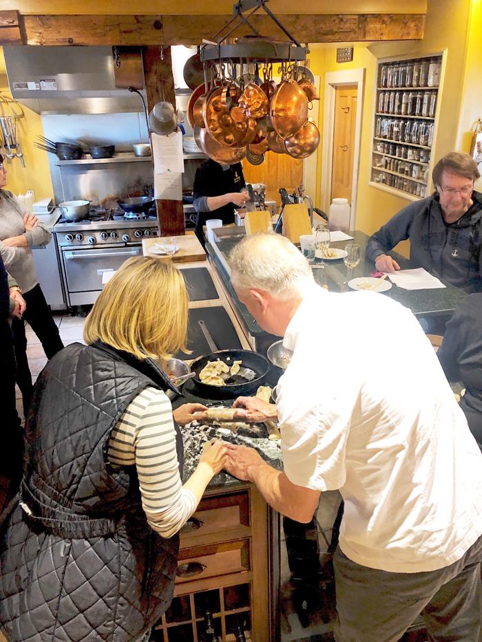 Hartstone Inn cooking class