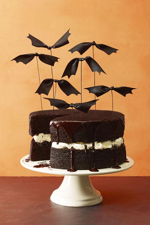 Chocolate Pumpkin Cake halloween cake