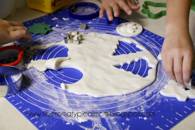 better than salt dough  homemade clay for ornaments or
