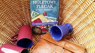 """Byłam w niezwykłej podróży mając tylko """"Fioletowy plecak i trzy herbaty"""", czyli recenzja książki Łukasza Szopy. Przed premierą!"""