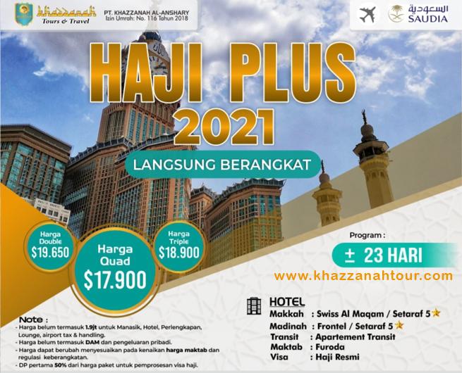 Haji Plus Langsung Berangkat 2021