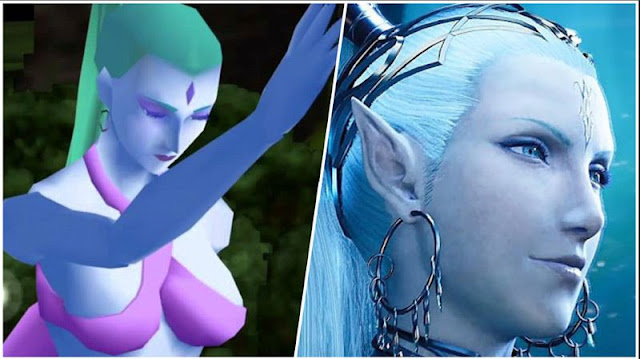 ff7 remake shiva comparisons