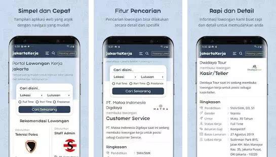 Aplikasi Untuk Mencari lowongan Pekerjaan di Android-1