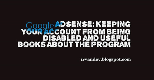 Keeping Your Account From Being Disabled and Useful Books About the Program  | Blog Irvandev